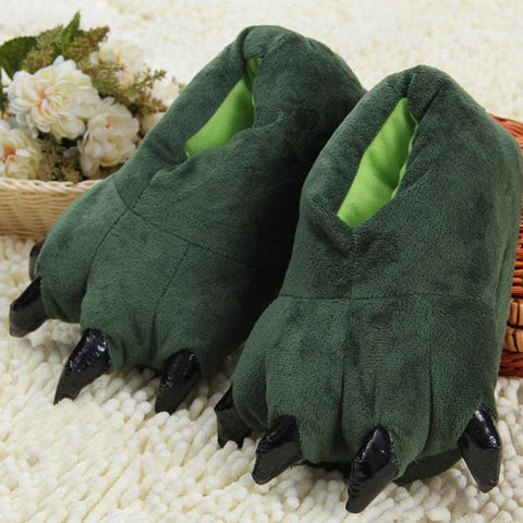 Green Dragon Costume Shoes