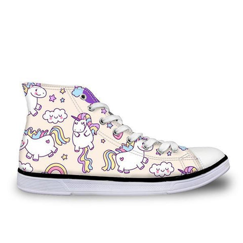 Flying Unicorn High Top