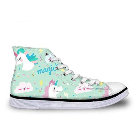 Magic Unicorn Canvas Shoe