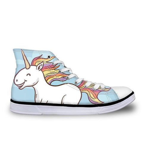 Happy Unicorn High Top