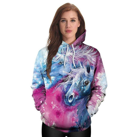 Majestic Unicorn Dream Hoodie Pullover