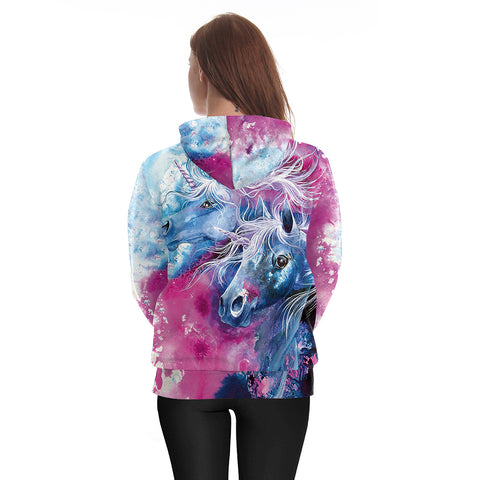 Majestic Unicorn Dream Hoodie Back