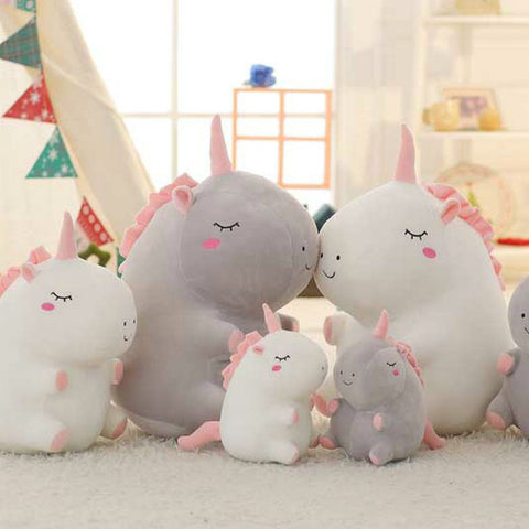 Chubby Unicorn Stuffed Animals