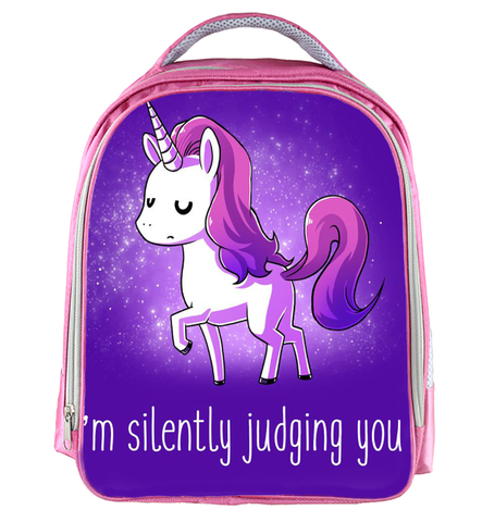 Kids Purple Unicorn Backpack