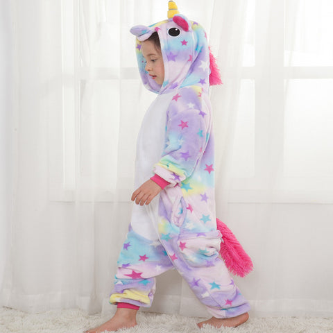 Kids Rainbow Unicorn Costume