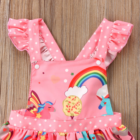 Rainbow Unicorn Dress Top