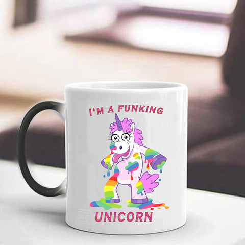 Funny Unicorn Coffee Cup