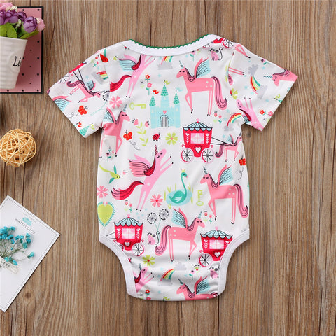 Magical Unicorn Baby Onesie Bodysuit