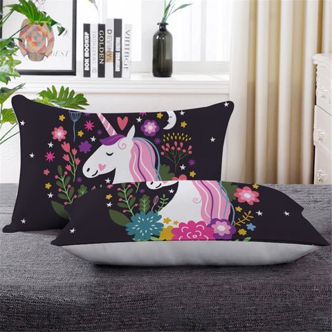 Unicorns Are Real Throw Pillow
