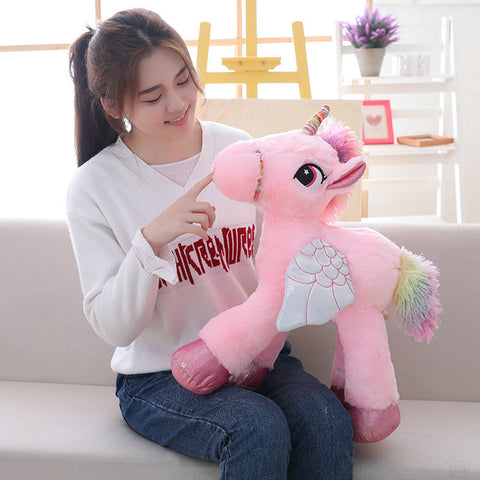 Large (60cm) Plush Stuffed Unicorn Toy