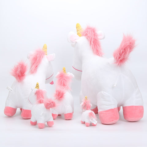 Back of Despicable Me Stuffed Unicorn Toy