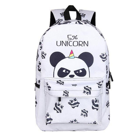 5% Unicorn Panda Backpack