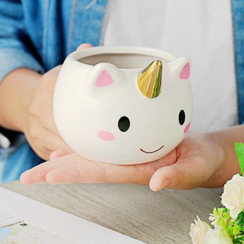 Ceramic Unicorn Coffee Mug