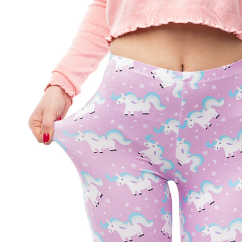 Stretchy Unicorn Tights