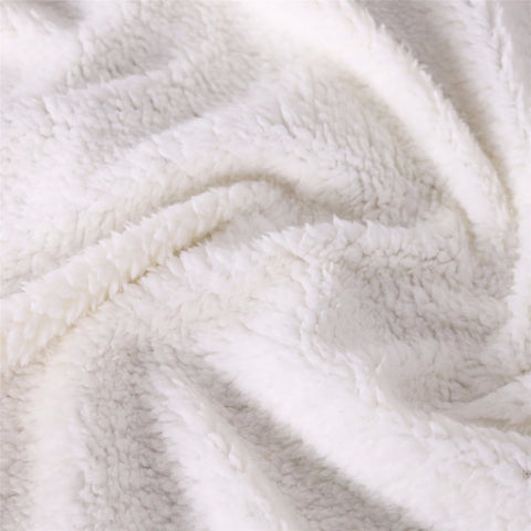 Unicorn Blanket Fleece Material