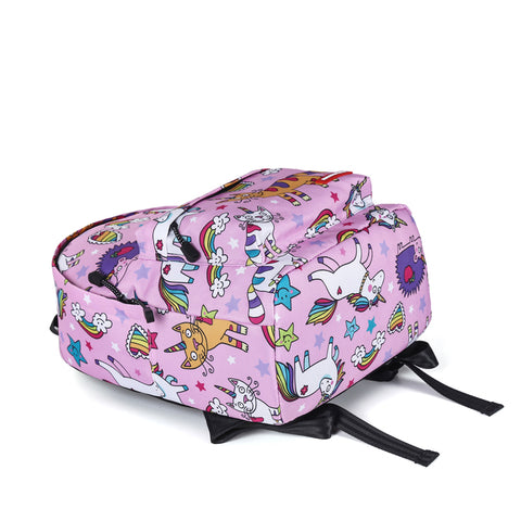 Bottom of Unicorn Print Backpack
