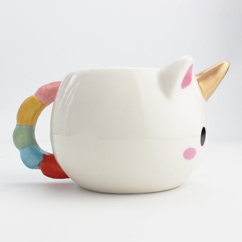 Side of Unicorn Coffee Mug