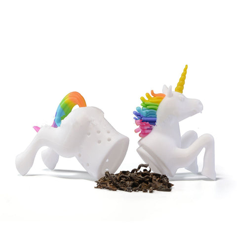 Open Silicone Unicorn Tea Strainer