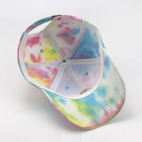 Rainbow Unicorn Baseball Hat Bottom