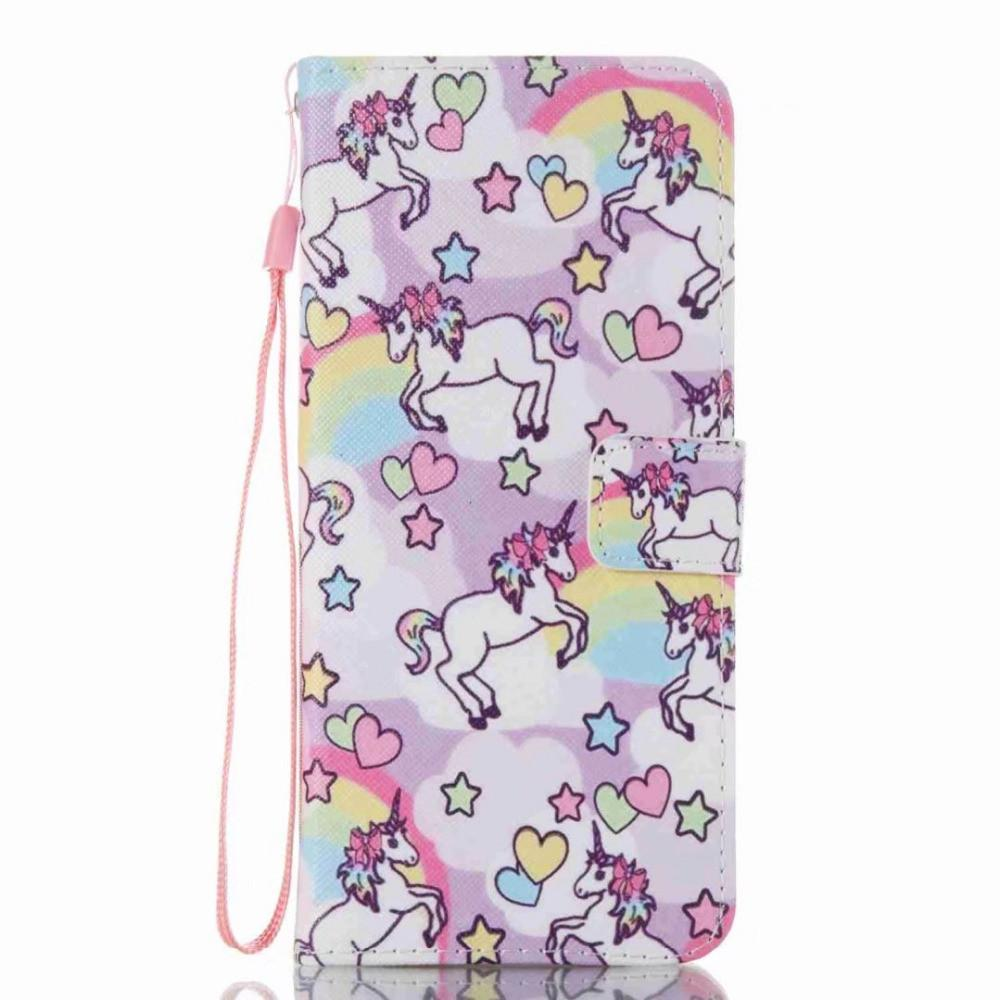 cheap for discount 621e0 275b0 Samsung Galaxy S8, S8 Plus Unicorn Flip Phone Case - 100 Unicorns
