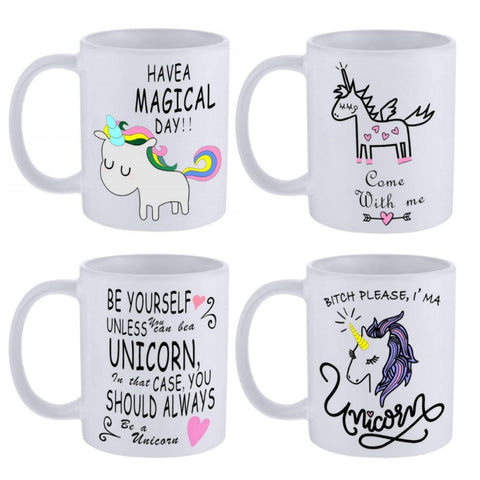 Ceramic Unicorn Coffee Cup Mugs