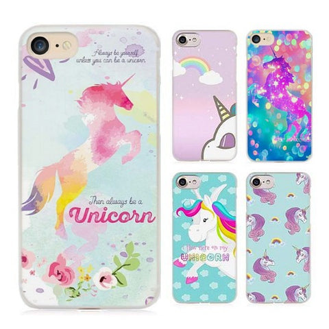 Assorted Unicorn iPhone Cell Phone Covers