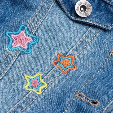 Unicorn Denim Jacket Embroidery