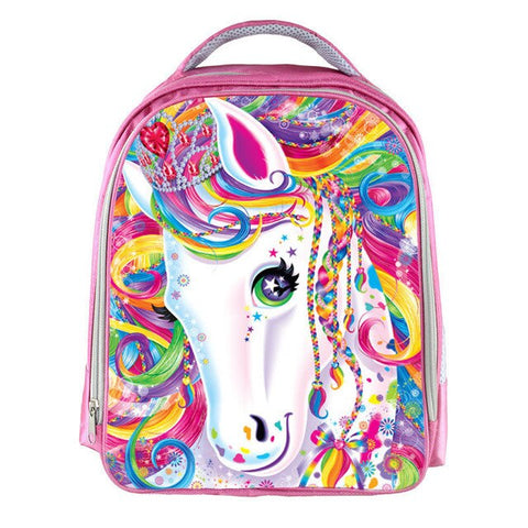 Girls Colorful Unicorn Rainbow Backpack