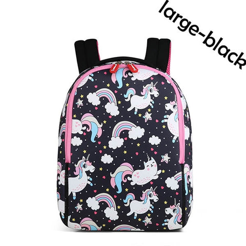 Rainbow Caticorn and Unicorn Backpack