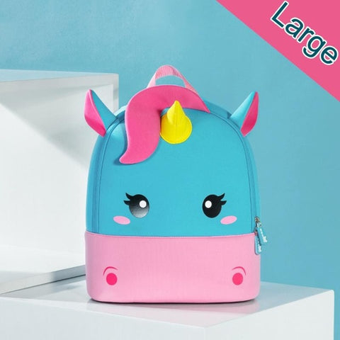 Mini Unicorn School Travel Backpack