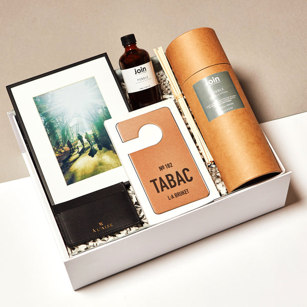 Parcel London blog. Behind the brand Jen Beby Join diffuser. MR CHELSEA Parcel gift box £93