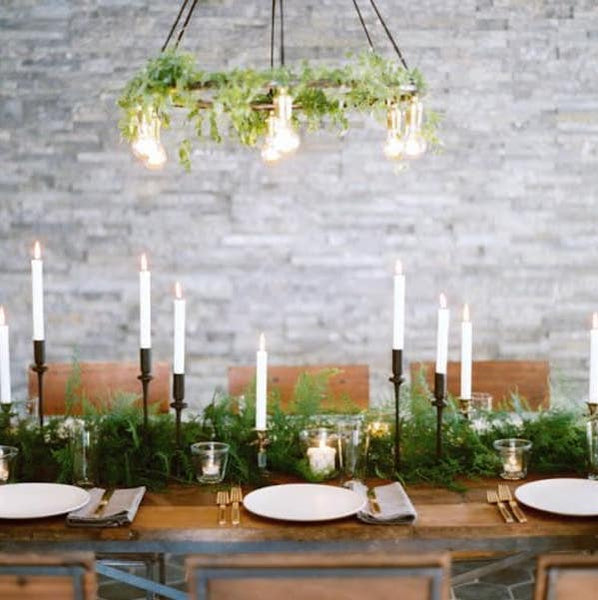 Parcel London blog. Christmas lunch ideas tabel decorations