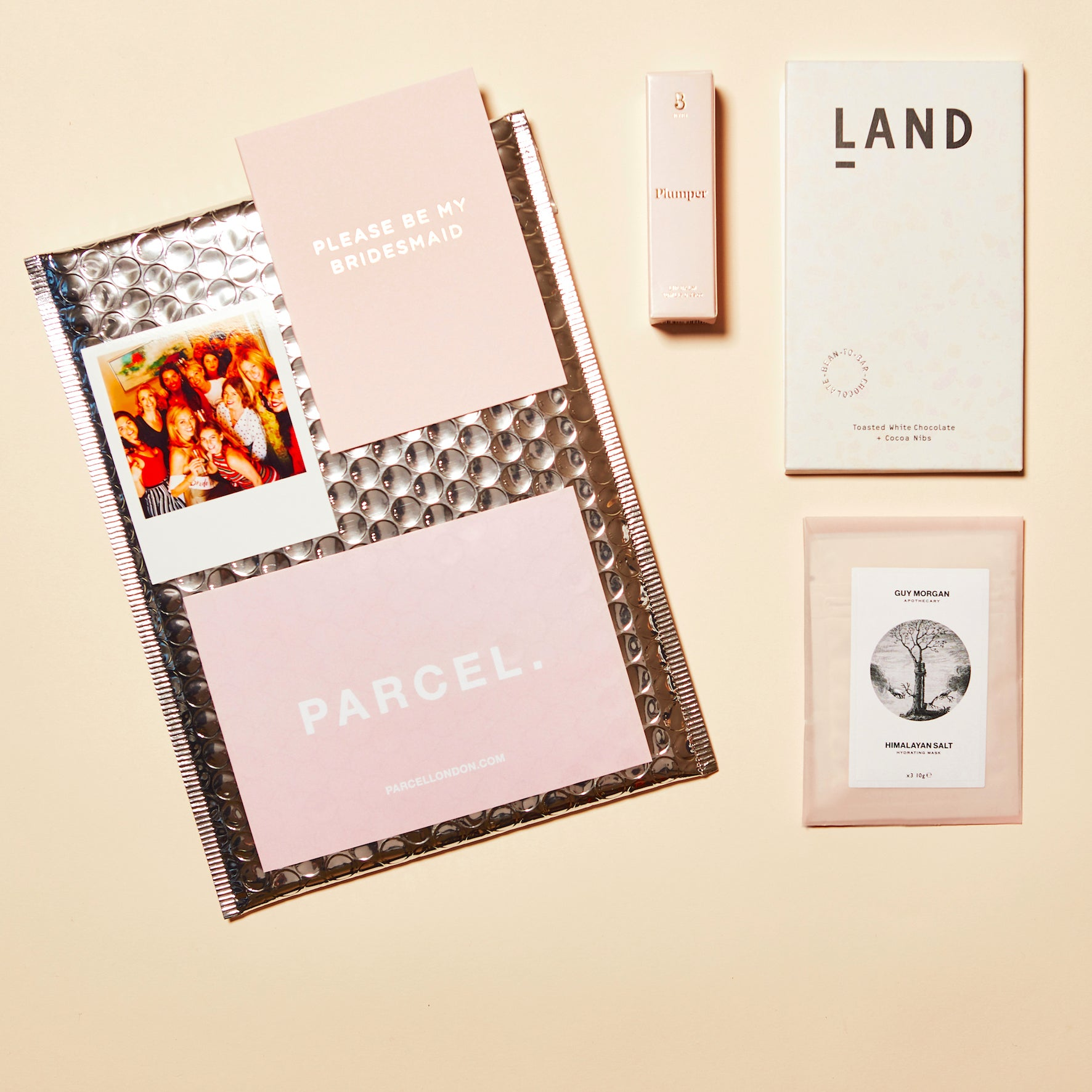 Parcel blog Galentines night Valentines gift. BFF Love letter. Parcel London. £32