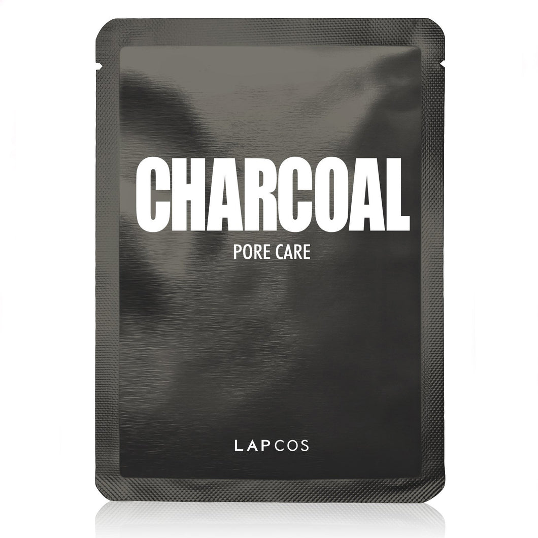LAPCOS CHARCOAL SHEET FACEMASK