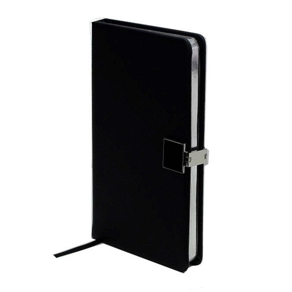 Parcel London. Addison Ross notebook black and silver