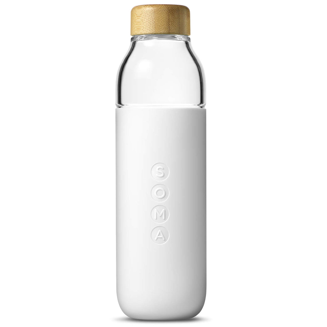 Parcel London. Soma water bottle white