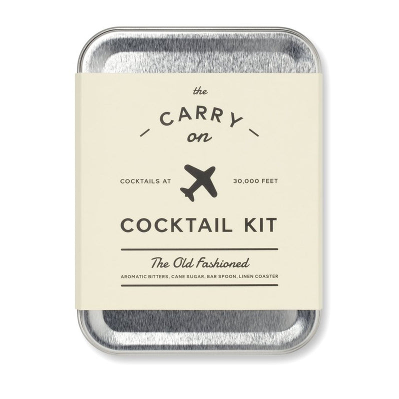 Parcel London. W&P Old fashioned cocktail kit
