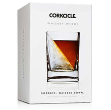 Parcel London Corkcicle whiskey wedge glass