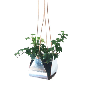 Parcel London gifting. Kate Sheridan leather plant hanger