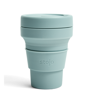 GREEN COLLAPSIBLE COFFEE CUP