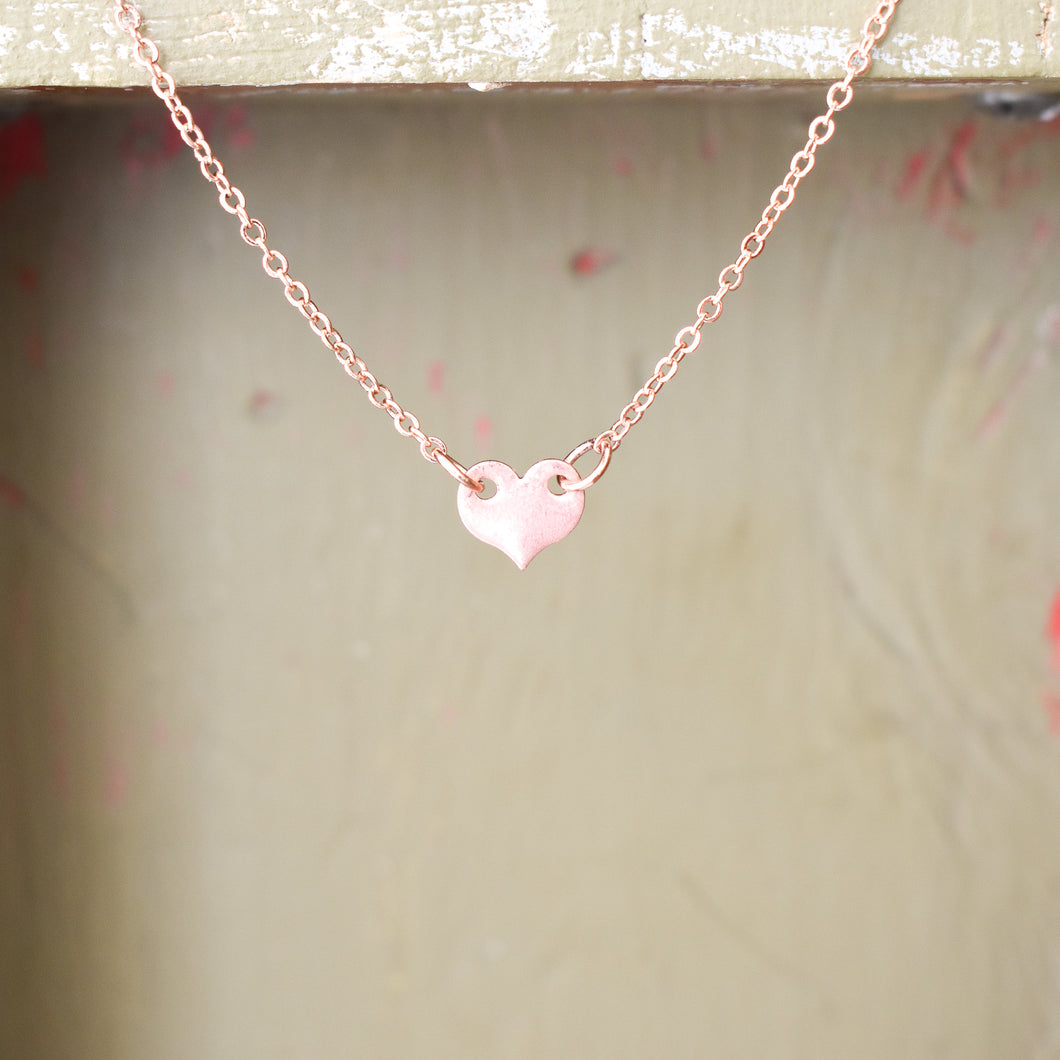 Mini Heart Choker Necklace