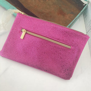Pink Zipper Bag