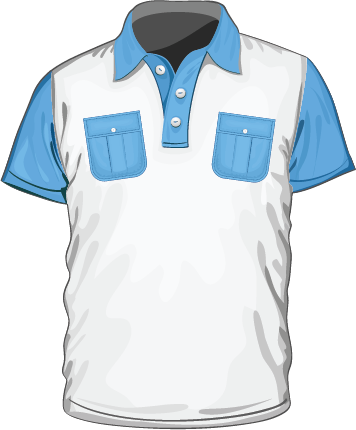 Multipart Configurable Polo shirt