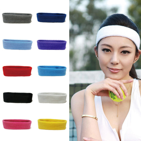 2019 Cool Men Women Ladies Elastic Hairband Head Band Sport Yoga Headband Head Scarf Cap 2 In 1 Bandana Hair Accessories 1111