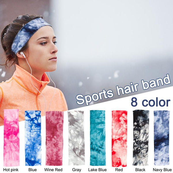 Sports Sweat Headband Sweatband For Men Women Yoga Hair Bands Running Head Anti Sweat Bands Sports Safety Drop Shipping