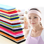 Sweat Band Gym Headband Basketball Yoga Sport Stretch Head Hair Band Sweat Band Universal Headband Sport Sweatbands