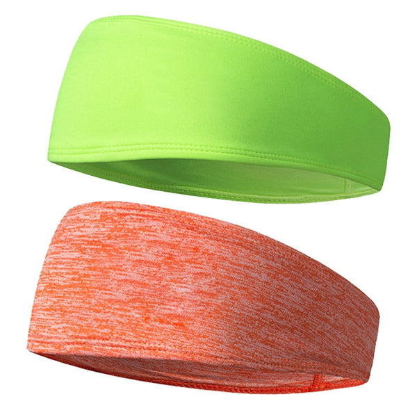 Simple Multi-Color Durable Sweat Absorbent Cool Sport Headband Yoga Towel Hair Band Fitness Workout Head Band for Women Men VL
