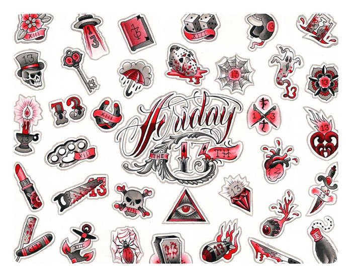 Is it lucky to get a tattoo on Friday the 13th?