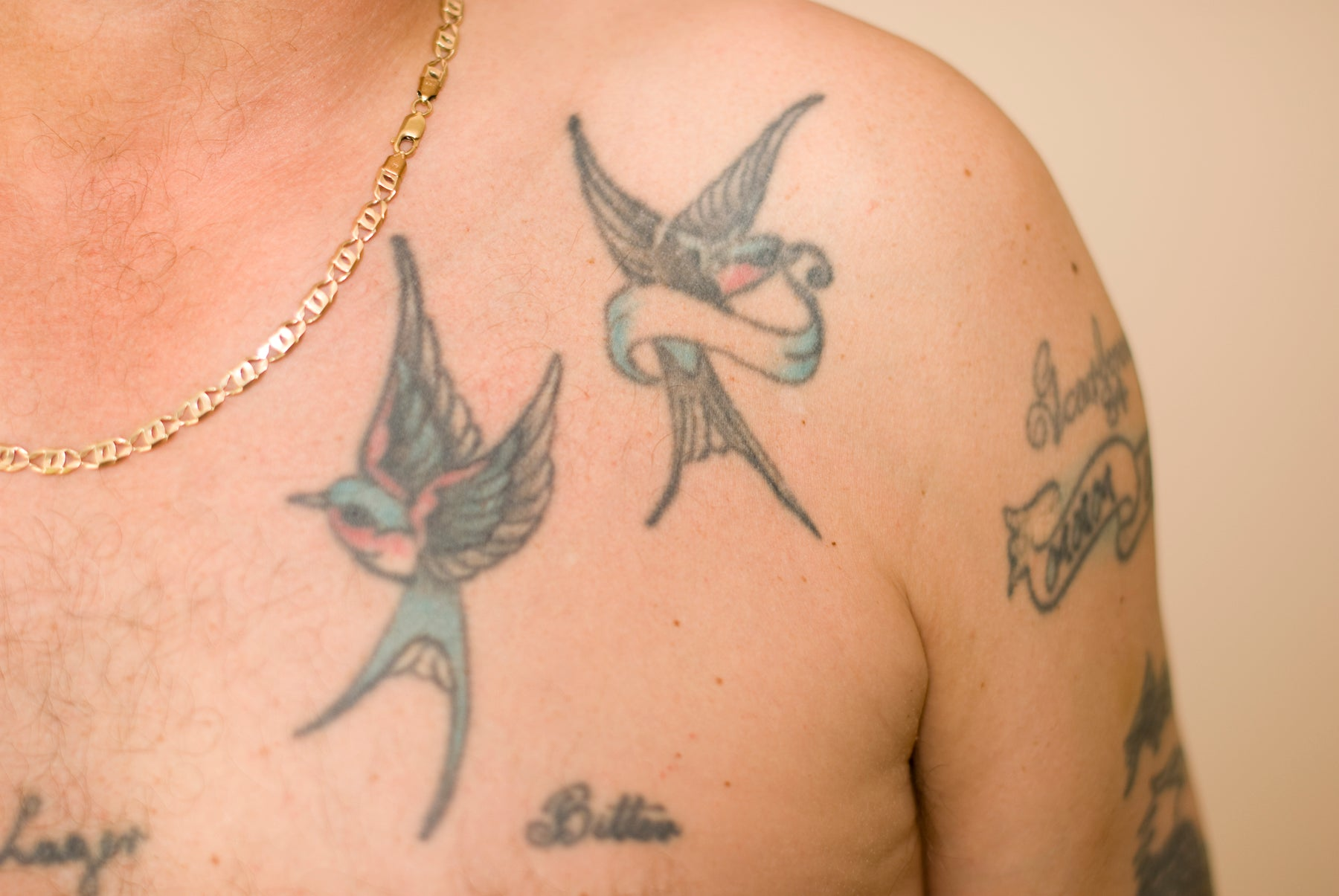 How a sailor's tattoo saved his soul