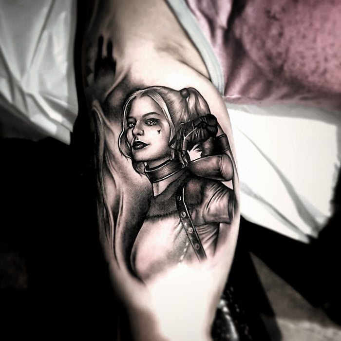 Harley Quinn and the tale of the terrible tattoo